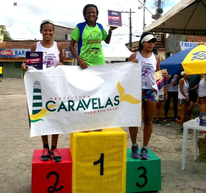 Marli Xavier ok na Corrida de Caravelas 2