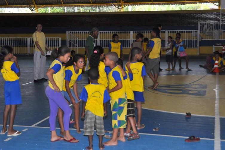 Alunos do AABB Comunidade FOTO 02 VINÍCIUS BORGES