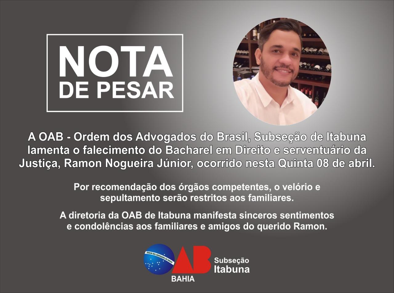 Serventuário da Justiça morre de Covid-19 aos 38 anos - Diário Bahia
